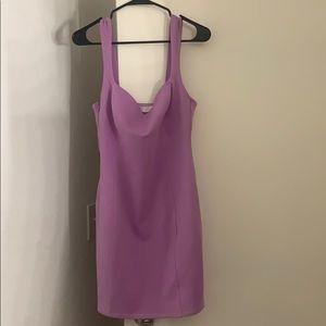 Muave/purple form fitting mini dress